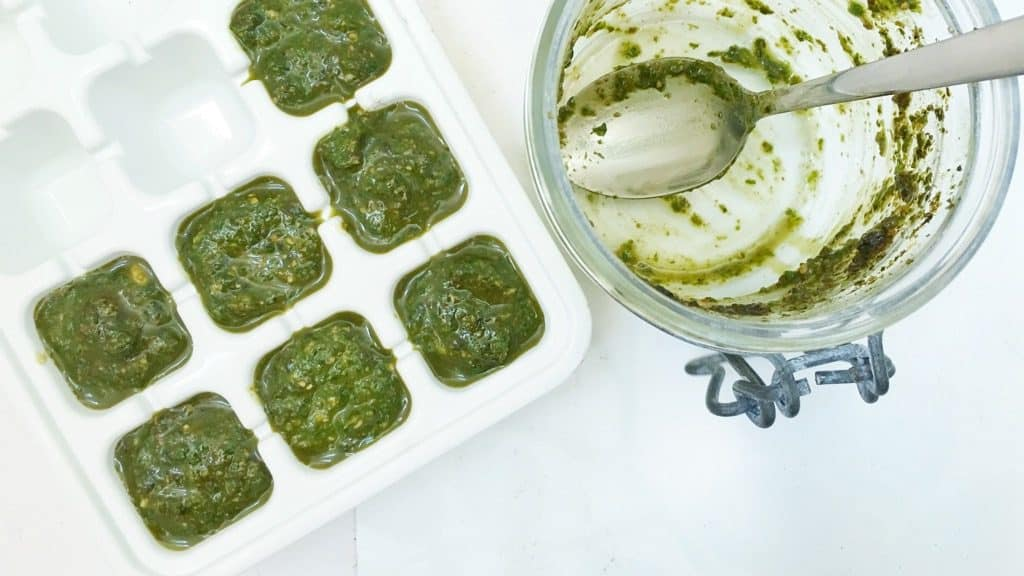 Too much fresh basil? Preserving basil is the answer so you can use it all year long! These little tricks are very easy to do...