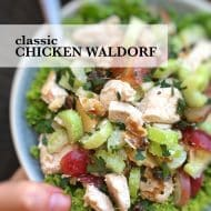 Chicken Waldorf Salad (Classic Recipe)
