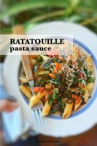 Watch my video of how I'm preparing a delicious ratatouille pasta sauce using my fabulous KitchenAid Food Processor Slicer and Cook Processor!