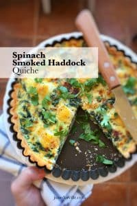 Watch my video of how I love to prepare this super savory spinach and smoked haddock quiche in my KitchenAid Stand Mixer Mini!