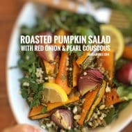 Roasted Pumpkin Salad with Pearl Couscous