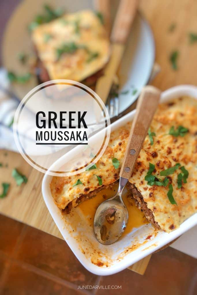 Truly The Best Moussaka Recipe In The World Inspired By Two Foodie Chefs And Friends