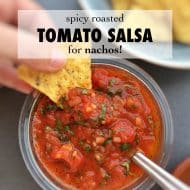 Spicy Roasted Tomato Salsa Recipe