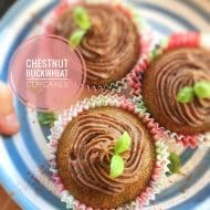 Chestnut Buckwheat Cupcakes Recipe