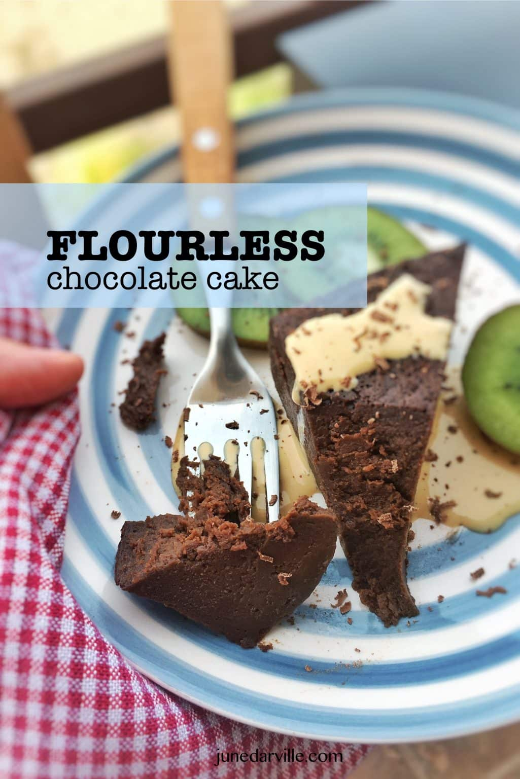 Flourless Chocolate Cake Recipe (Gluten Free)