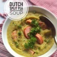 Split Pea Soup Recipe (Dutch Erwtensoep)