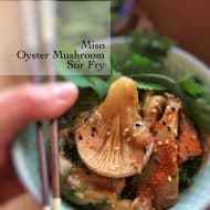 Miso Mushroom Stir Fry Recipe