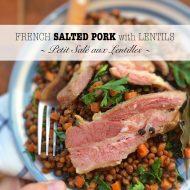 Petit Salé aux Lentilles (French Salted Pork & Lentil Stew)