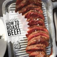 Roast Beef Recipes (How To Roast Beef)