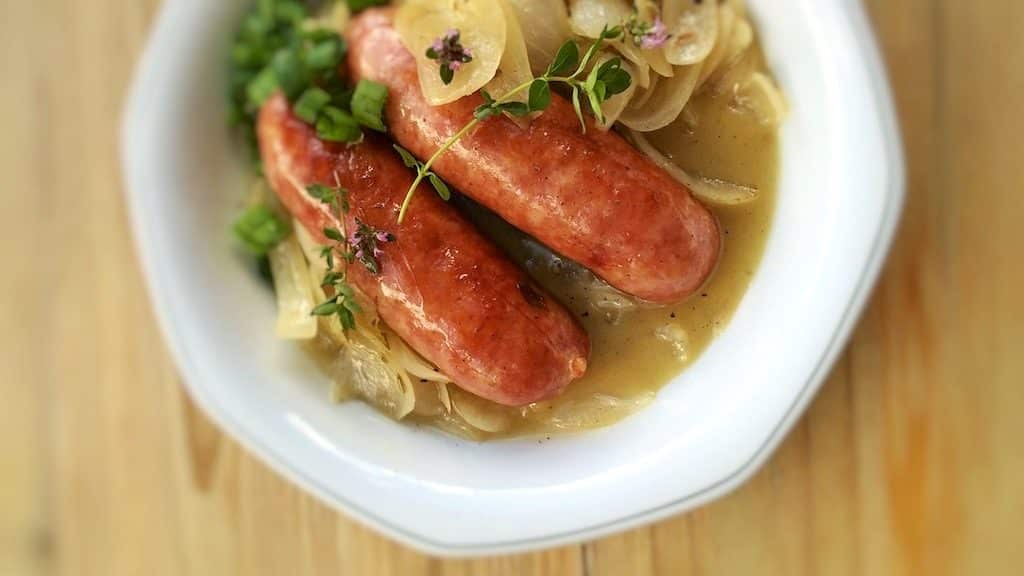 diots de savoie savoy sausage recipe simple tasty