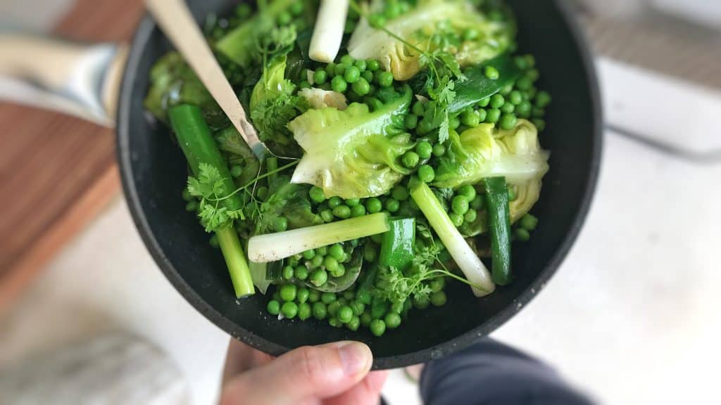 French Peas & Braised Butter Lettuce | Simple. Tasty. Good.