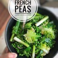 French Peas & Braised Butter Lettuce