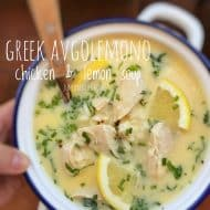 Avgolemono Soup Recipe (Greek Chicken Soup)