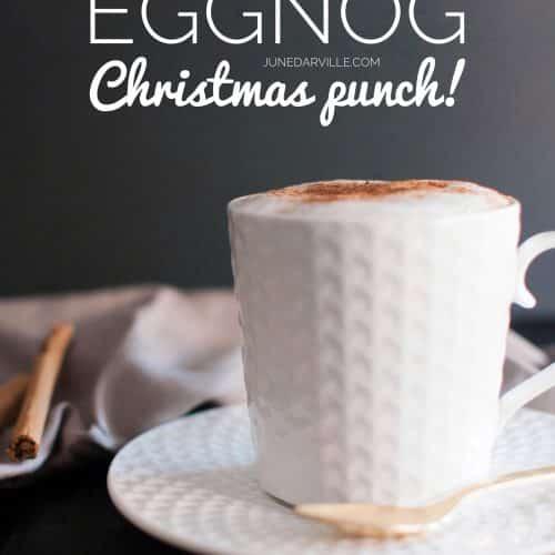 Eggnog (Homemade Christmas Punch)