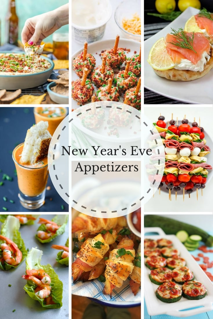 Ring in the new year with our top recipes and finger foods that'll have guests partying past midnight from Food Network.