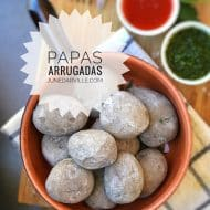 Papas Arrugadas (Canarian Wrinkly Potatoes)
