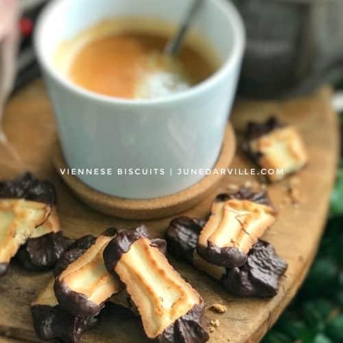 Viennese Biscuits Cookie Recipe