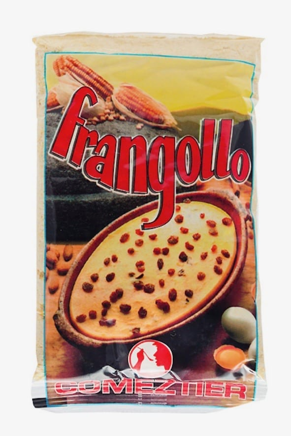 Frangollo, a typical Canarian dessert that contains millet flour, almonds, lemon zest and raisins! You will love this one...