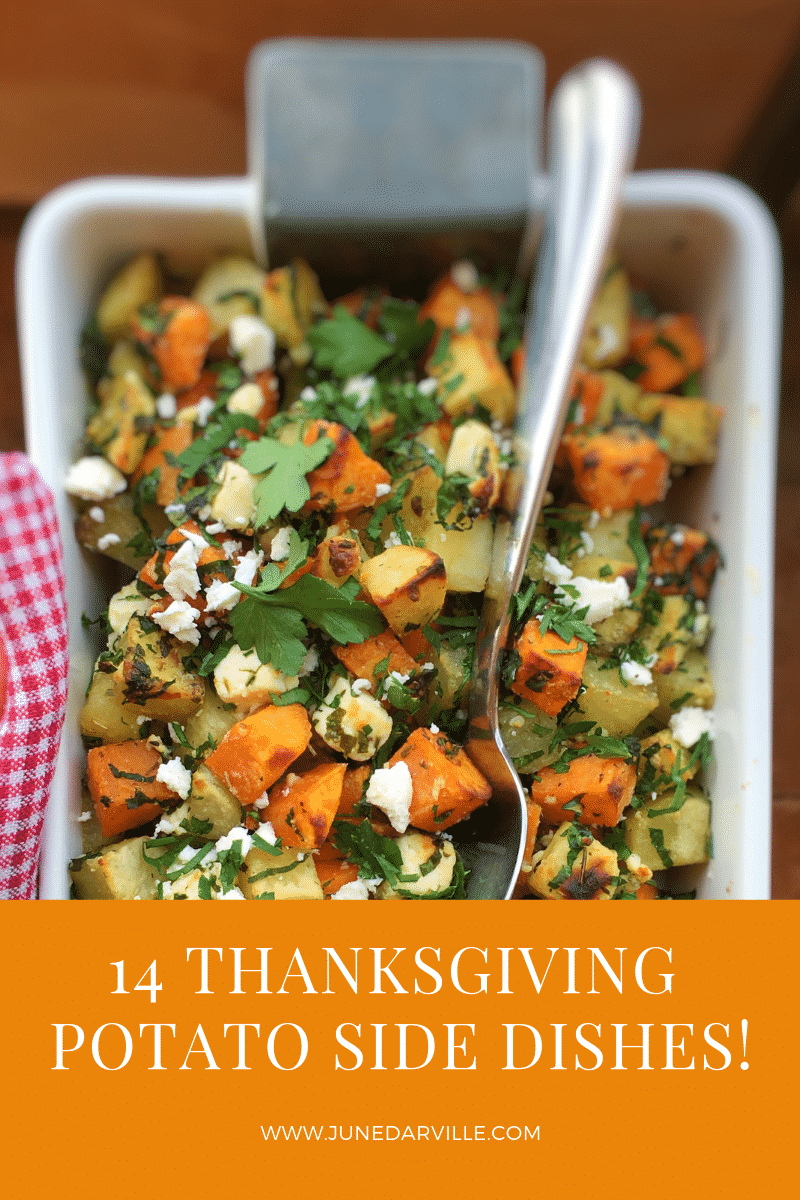 Wow! Another year has passed! So that's why today I gladly offer you a cool collection of my most favorite Thanksgivingpotato side dishes!