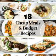 18 Cheap Meals & Budget Recipes