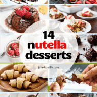 12 Nutella Recipes & Sweet Treats