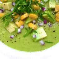 Avocado Soup (Crema de Aguacate)