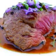 Cooking with Lavender: Lavender Steak!