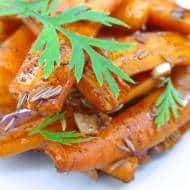 Glazed Carrots Recipe with Guinness