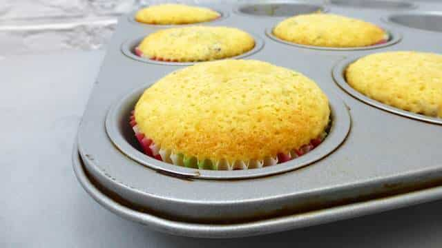 Yep, lavender cupcakes. Sure! I bet you'll never look at lavender in the same way again after tasting these little sweet treats.