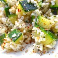 Moroccan Couscous Salad with Zucchini