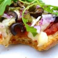 Pizza Bread Recipe with Mozzarella