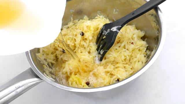 Sauerkraut with bacon smothered in white wine... This is such a fresh and tasty side dish for pork or poached salmon steaks!