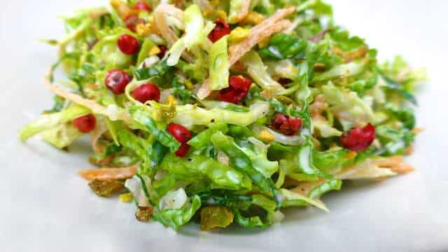 Easy Savoy Cabbage Salad Recipe Simple Tasty Good