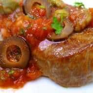 Steak Pizzaiola (Italian Tomato Sauce)
