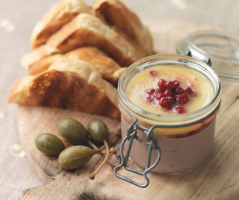 Here's a super creamy homemade chicken liver pate with butter and juniper berries. Also check out my sin free chicken liver parfait! What a delicious spread...