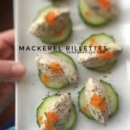 Mackerel Rillettes Appetizers