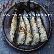 How To Clean Fish: Fresh Sardines