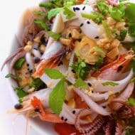 Thai Seafood Noodle Salad Recipe