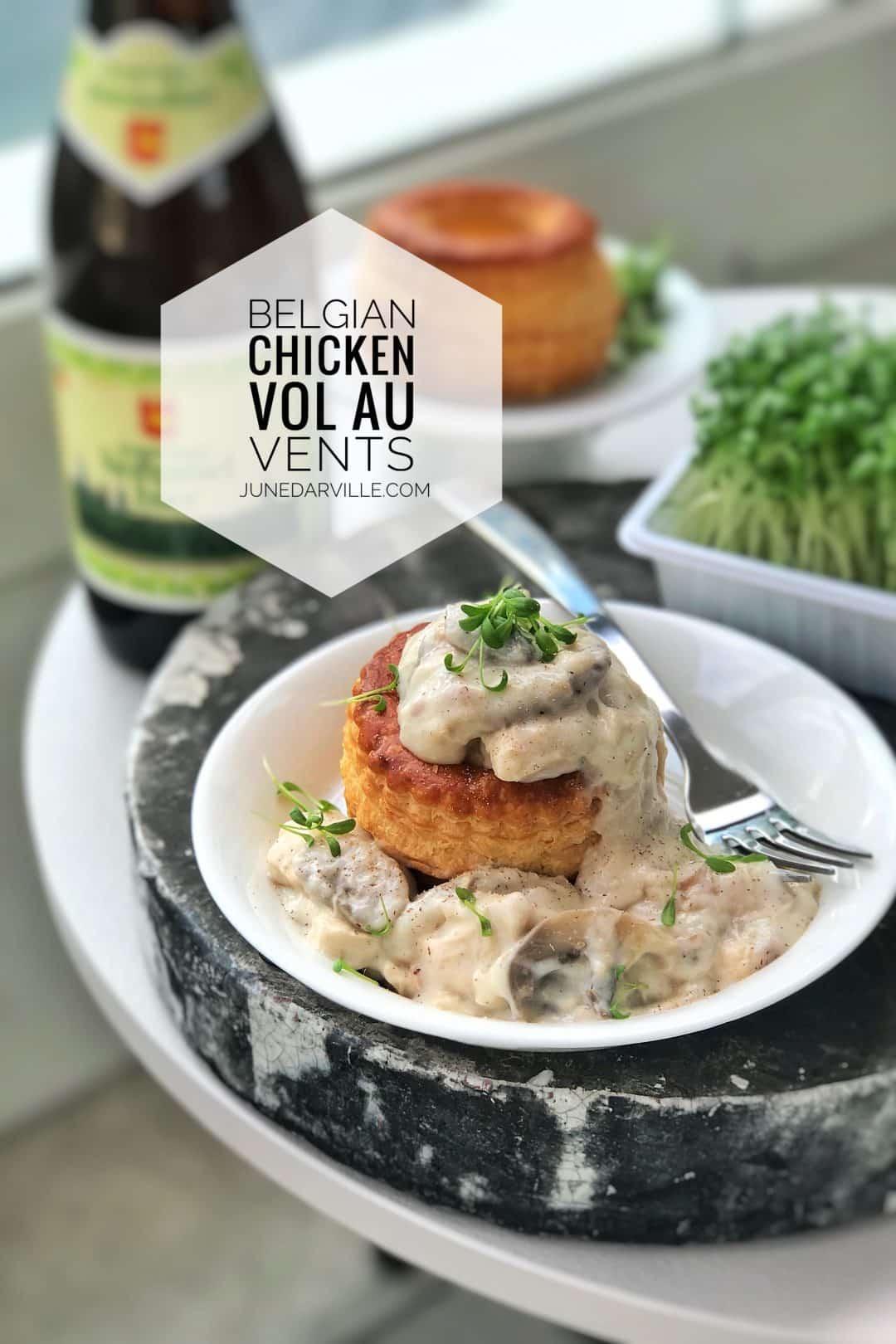 Chicken Vol Au Vents Recipe