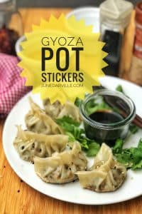 My homemade pot stickers recipe: ever heard of gyoza also known as Japanese ravioli? Here's my personal gyoza recipe then...