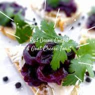 Red Onion Confit with Red Wine Recipe