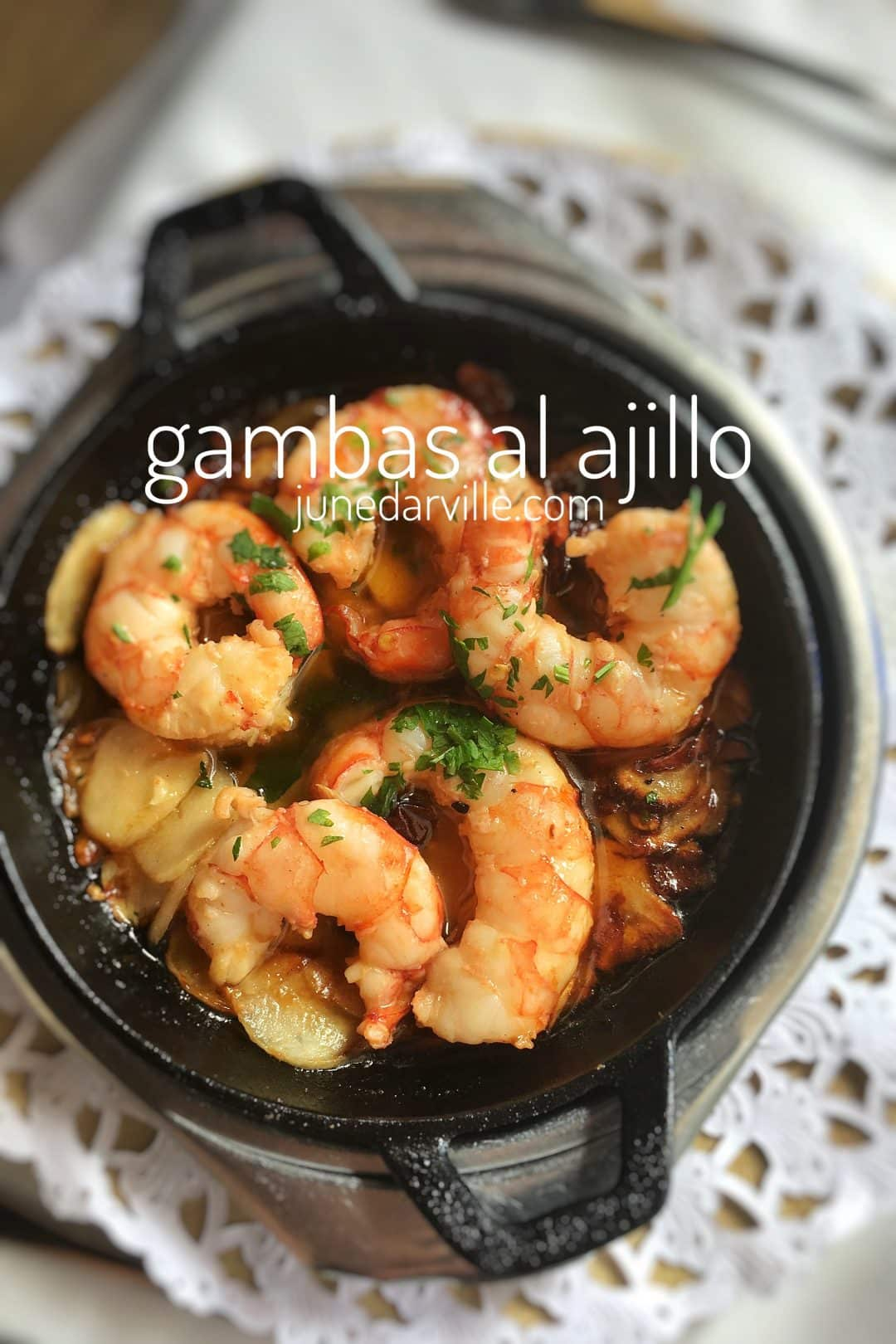 Best Garlic Prawns Recipe Spanish Gambas Al Ajillo Simple Tasty Good