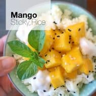Mango Sticky Rice Thai Recipe