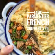 Easy French Lamb Parmentier Casserole