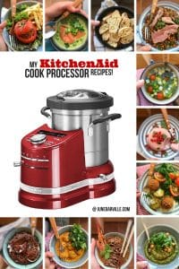 A collection of my personal KitchenAid Cook Processor recipes + review!