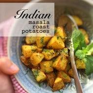 Indian Spiced Masala Roast Potatoes