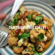 Thai Cauliflower Stir Fry Recipe