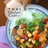 Thai Chicken Cashew Recipe