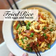 Bacon Fried Rice with Eggs Recipe