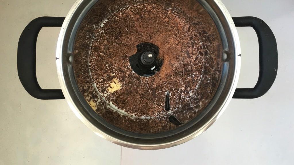 Easy peasy chocolate dessert risotto, a no fuss dessert!